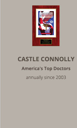 Castle Connolly: America's Top Doctors (annually since 2003)