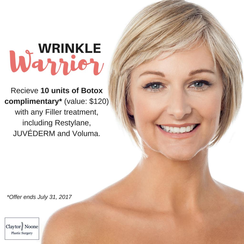 Botox Promotion Philadelphia   Fillers Special